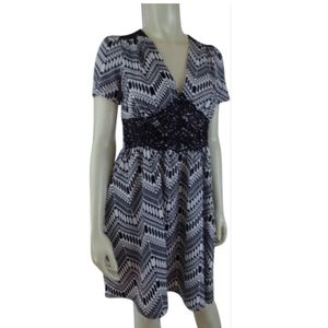 Monteau Anthro Dress M PolySpandex Stretch